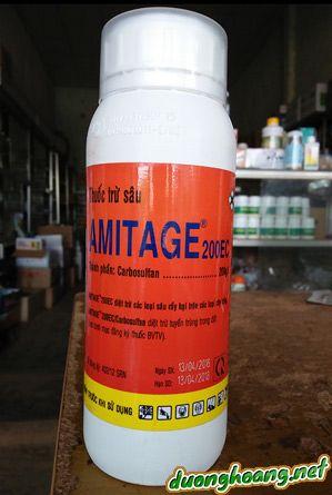 amitage 250ec, thuốc sâu, trừ tuyến trùng rễ tiêu, sâu đục thân