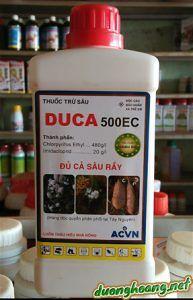 thuốc sâu sùng duca 500EC, trị sâu, rệp, trên khoai lang, đặc trị sùng hà