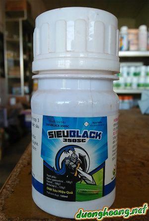 thuốc trừ sâu sieublack 350sc, đặc trị sấu, rệp, diệt sâu cực mạnh