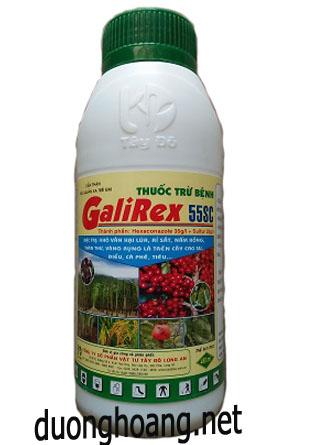thuốc trừ bệnh galirex 55sc