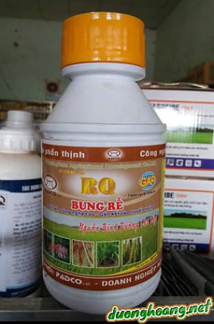 RQ bung rễ cây trồng sinh trưởng, phát triển khỏe mạnh, cân đối, bổ sung đa, trung, vi lượng ở dạng dễ tiêu