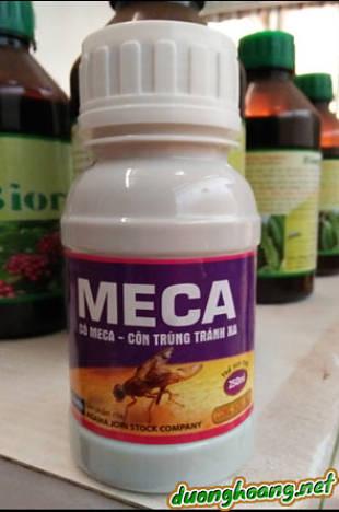 meca xua đuổi và diệt ruồi vàng bằng Meca, có Meca côn trùng tránh xa, cách diệt ruồi vàng, diệt côn trùng, cây bầu bí, cây bưởi, các loại