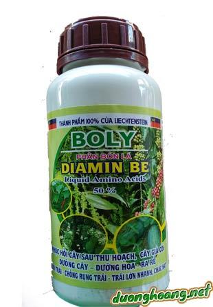 Phân bón lá Diamin Be boly liquid amino acids 50%,