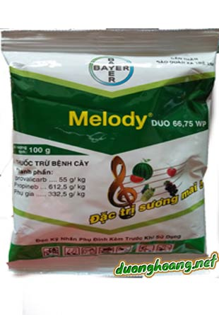 melody duo 66,75wg