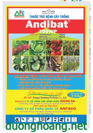 andibat 700wwp thuốc trừ bệnh