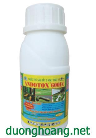 thuốc trừ rầy andotox 600ec 3 hoat chất