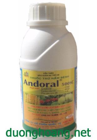 thuốc trừ bệnh andoral 500sc