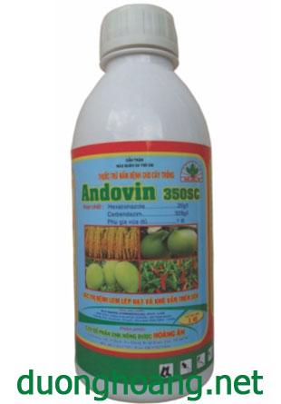 thuốc trừ nấm bệnh andovin 350sc